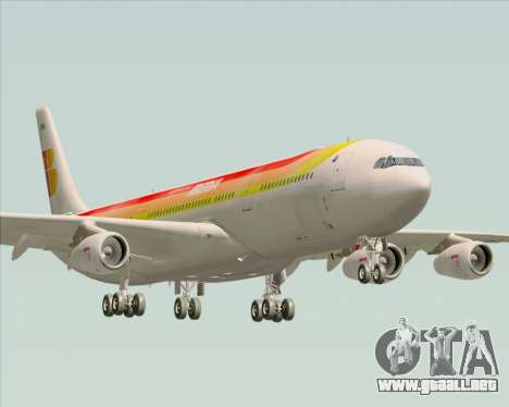 Airbus A340 -313 Iberia para GTA San Andreas