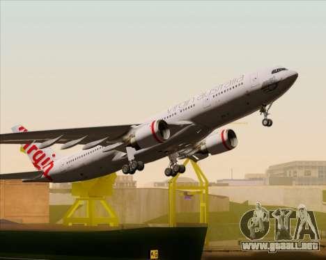 Airbus A330-200 Virgin Australia para el motor de GTA San Andreas