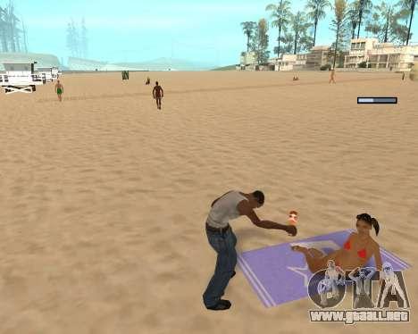 En el aire! para GTA San Andreas segunda pantalla