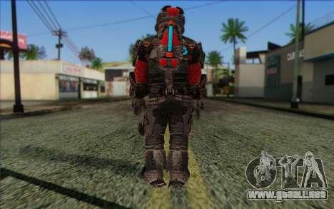 John Carver from Dead Space 3 para GTA San Andreas segunda pantalla