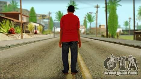 GTA 5 Ped 22 para GTA San Andreas segunda pantalla