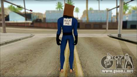 Spiderman para GTA San Andreas segunda pantalla