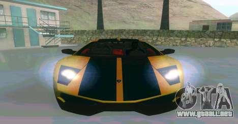 Lamborghini Murcielago para GTA San Andreas left