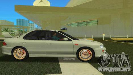 Subaru Impreza WRX STI GC8 Sedan Type 2 para GTA Vice City visión correcta