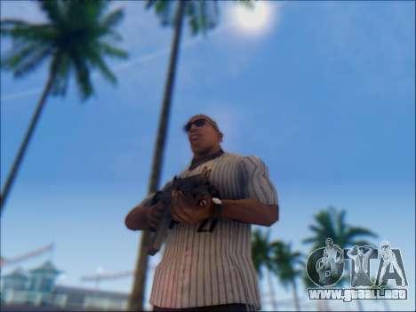 Israel carabina ACE 21 para GTA San Andreas sexta pantalla