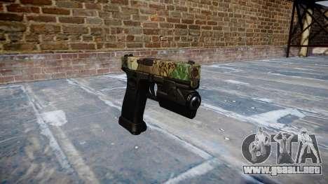Pistola Glock 20 ronin para GTA 4