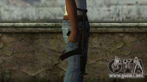 TheCrazyGamer MP5 para GTA San Andreas tercera pantalla