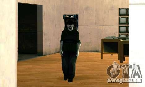 El Fantasma De Humo Grande para GTA San Andreas segunda pantalla