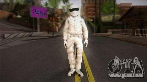 The Stig from Top Gear para GTA San Andreas