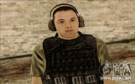 Asano from ArmA II: PMC para GTA San Andreas tercera pantalla