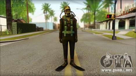 Buzo para GTA San Andreas