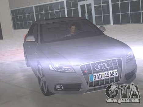 Audi S4 (B8) 2010 - Metallischen para GTA Vice City vista lateral