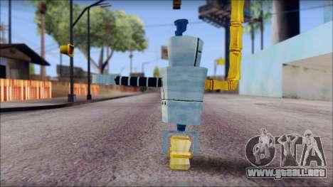 Hamsmp from Sponge Bob para GTA San Andreas segunda pantalla