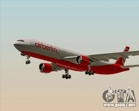 Airbus A330-300 Air Berlin para el motor de GTA San Andreas