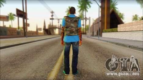 Skin Sicario GTA V By Cesar Hardy para GTA San Andreas segunda pantalla