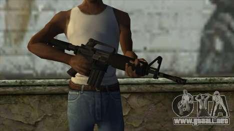 TheCrazyGamer M16A2 para GTA San Andreas tercera pantalla