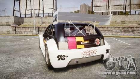 Zenden Cup K&N Airfilters para GTA 4 Vista posterior izquierda