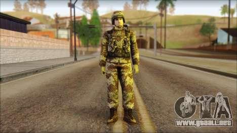 Navy Seal Soldier para GTA San Andreas