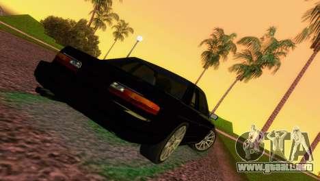 Nissan Silvia S13 RB26DETT Black Revel para GTA Vice City vista lateral izquierdo
