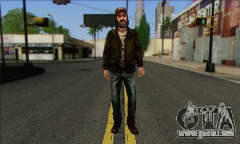 Kenny from The Walking Dead v2 para GTA San Andreas