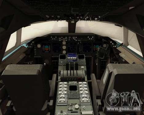 Boeing 747-8 Cargo Korean Air Cargo para GTA San Andreas interior