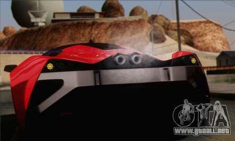 Marussia B2 para visión interna GTA San Andreas