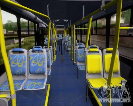 Comil Svelto BRT Scania K310IB 6x2 Sorocaba para vista lateral GTA San Andreas
