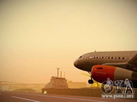 Airbus A319-132 Scandinavian Airlines para el motor de GTA San Andreas