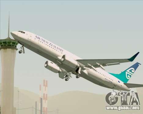 Boeing 737-800 Air New Zealand para el motor de GTA San Andreas