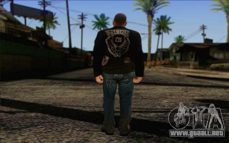 Johnny Klebitz From GTA 5 para GTA San Andreas segunda pantalla
