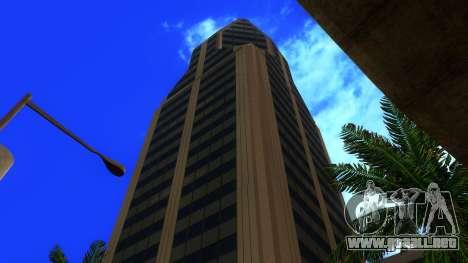 De texturas en HD de cuatro rascacielos en Los S para GTA San Andreas novena de pantalla