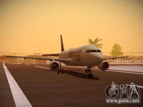 Airbus A320-214 LAN Oneworld para GTA San Andreas left