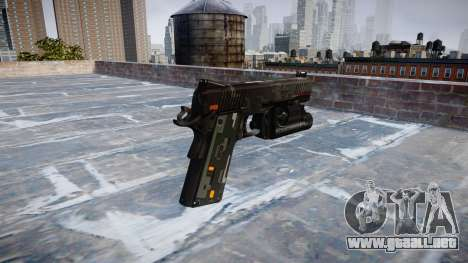 Pistola de Kimber 1911 CE Digital para GTA 4 segundos de pantalla