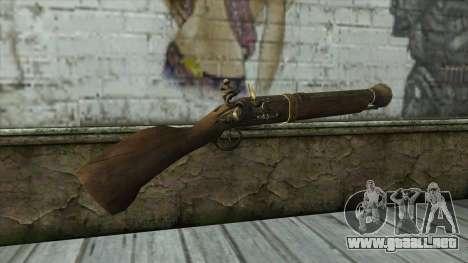 Trabuco from Assassins Creed 4: Freedom Cry para GTA San Andreas segunda pantalla