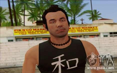Fabien LaRouche from GTA 5 para GTA San Andreas tercera pantalla