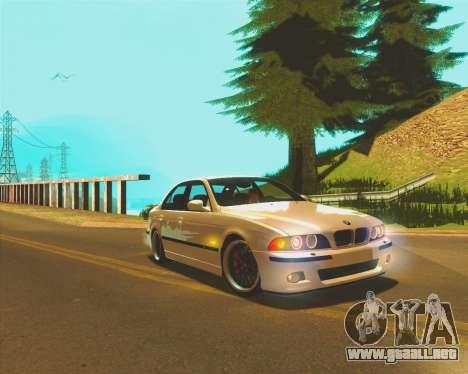 LS ENB by JayZz para GTA San Andreas sucesivamente de pantalla