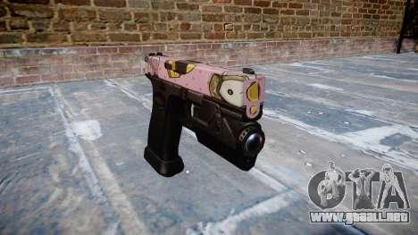 Pistola Glock 20 kawaii para GTA 4