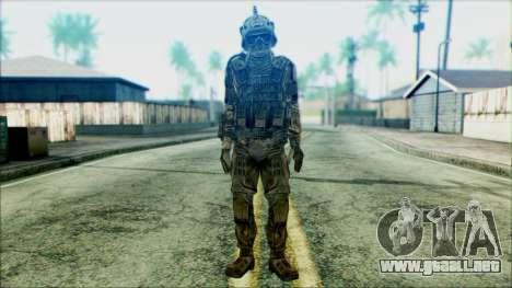 Soldados de equipo Fantasma 3 para GTA San Andreas