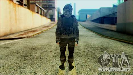 Los soldados aerotransportados (CoD: MW2) v4 para GTA San Andreas segunda pantalla