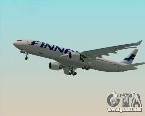 Airbus A330-300 Finnair (Current Livery) para el motor de GTA San Andreas