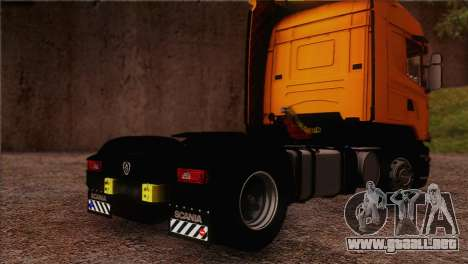 Scania R500 Streamline para GTA San Andreas left