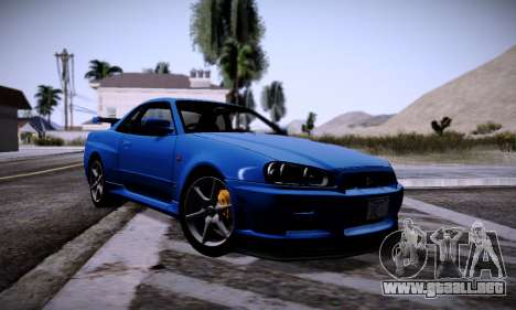 Graphic mod for Medium PC para GTA San Andreas