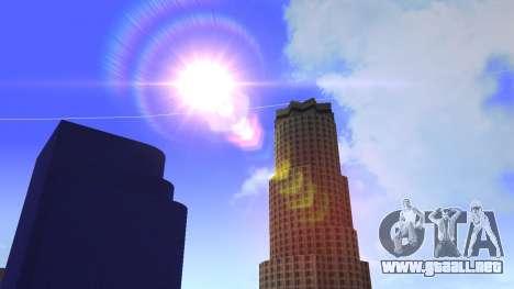 De texturas en HD de cuatro rascacielos en Los S para GTA San Andreas octavo de pantalla