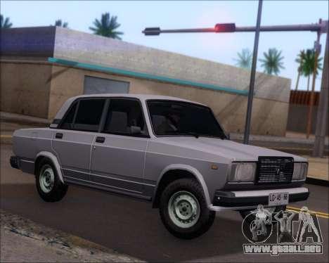 LADA 2107 para GTA San Andreas left