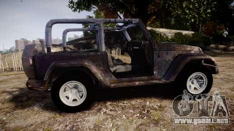 Jeep Wrangler Unlimited Rubicon para GTA 4 left
