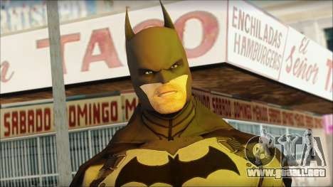 Batman From Batman: Arkham Origins para GTA San Andreas tercera pantalla