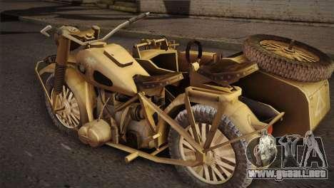 BMW R75 Desert from Forgotten Hope 2 para GTA San Andreas left