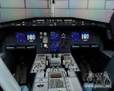 Airbus A340-312 Air Mauritius para GTA San Andreas interior