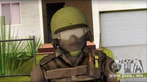 Australian Soldier para GTA San Andreas tercera pantalla
