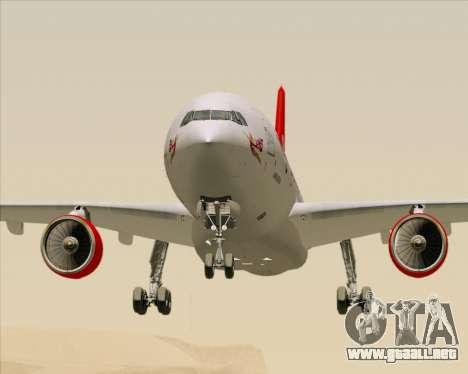 Airbus A330-300 Virgin Atlantic Airways para la vista superior GTA San Andreas